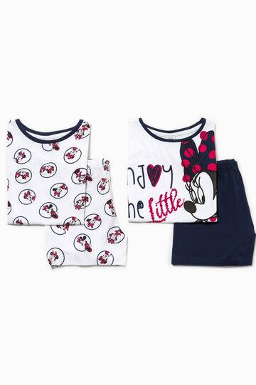 Set due pigiami Minnie 100% Biocotton