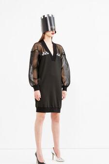 Evening dress, Jean Paul Gaultier for OVS, Black, hi-res
