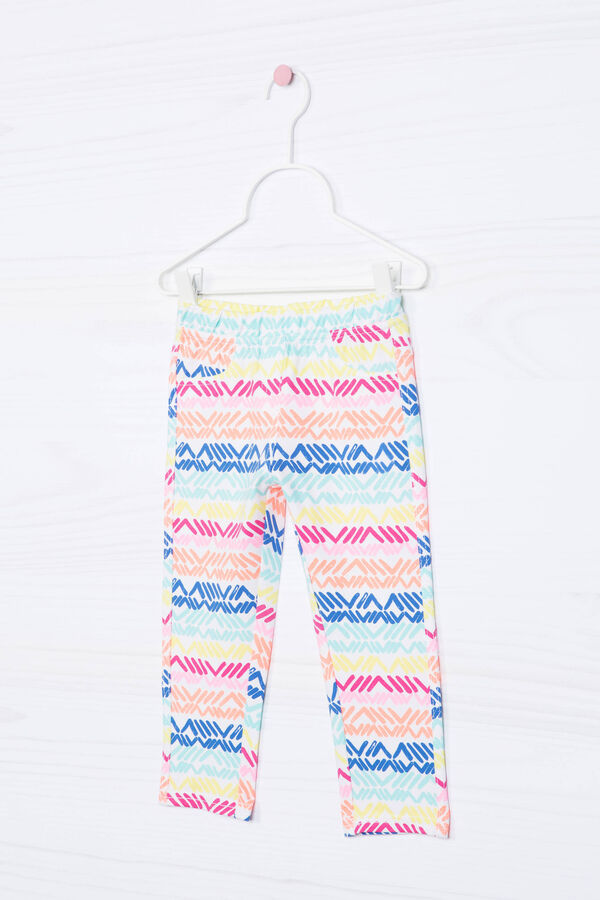 Leggings stampati cotone stretch | OVS