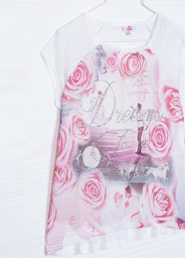100% viscose T-shirt with Disney print | OVS