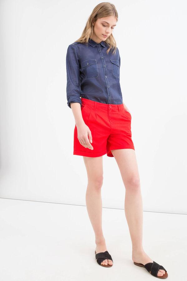 Shorts puro cotone tinta unita | OVS