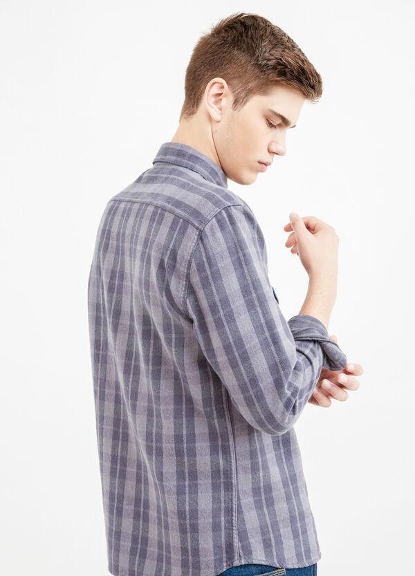 Camicia casual cotone a quadri G&H | OVS