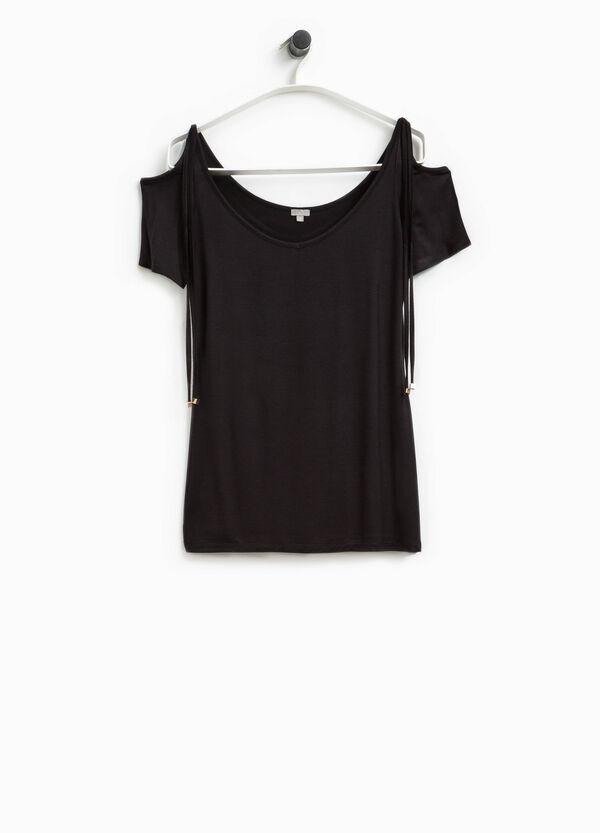 T-shirt con laccetti Smart Basic | OVS