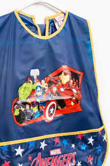Avengers apron for painting, Navy Blue, hi-res