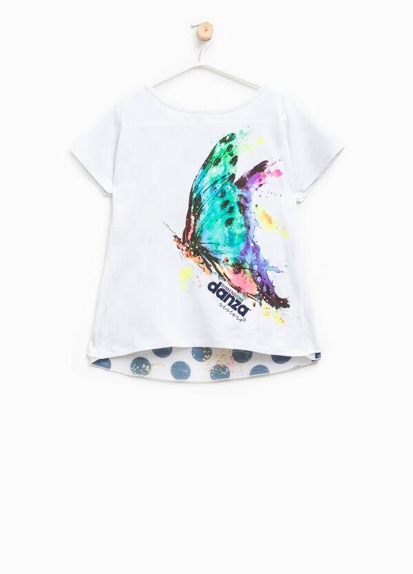 T-shirt cotone stretch Dimensione Danza | OVS