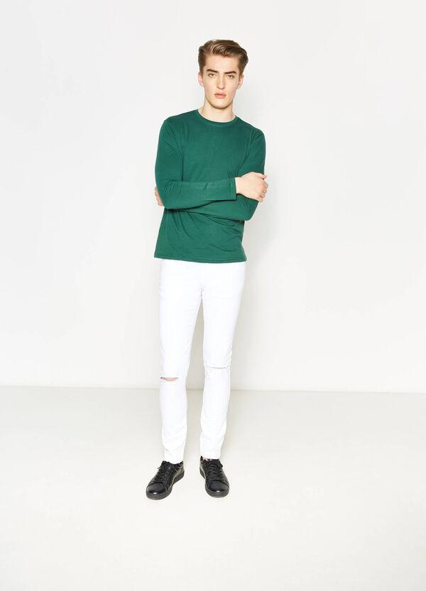 T-shirt in cotone girocollo | OVS