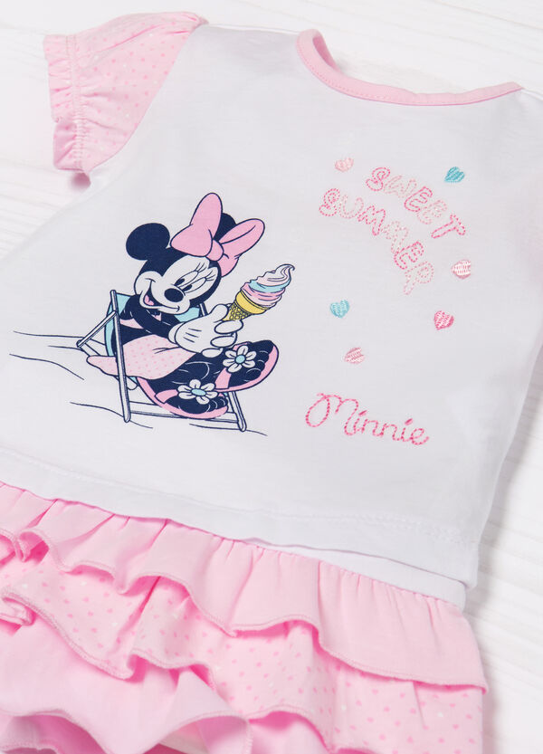 Minnie Mouse 100% cotton outfit. | OVS