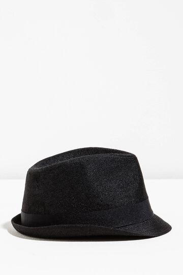 Sombrero de ala ancha con vuelta