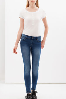 Jeans skinny fit stretch, Lavaggio medio, hi-res