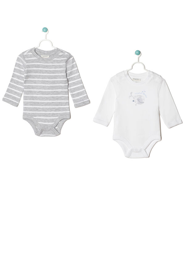 Two-pack interlock bodysuits | OVS