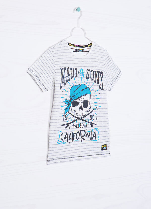 100% cotton T-shirt by Maui and Sons | OVS
