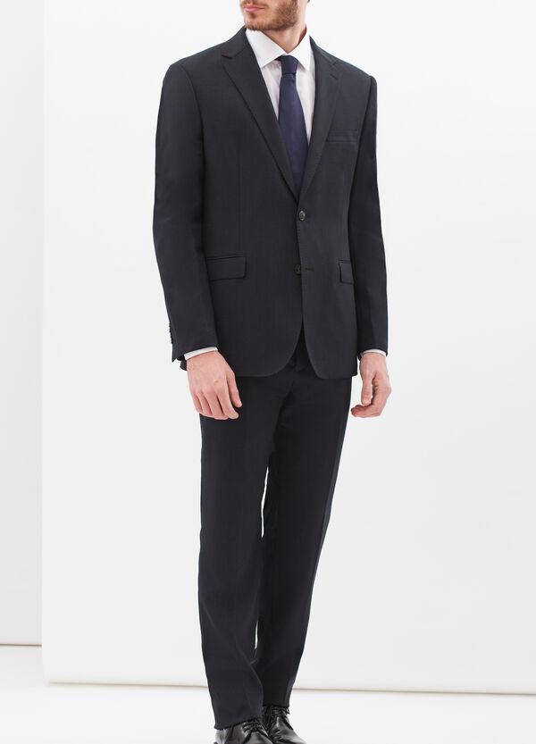 Solid colour elegant suit in regular fit | OVS