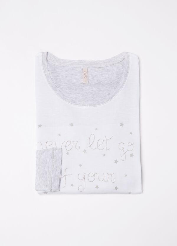 100% cotton pyjama top | OVS