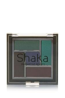 Palette ombretti composta da cinque colori dai finish diversi: mat, satin, pearly e metal. Crea il tuo look mixando effetti diversi., Green, hi-res