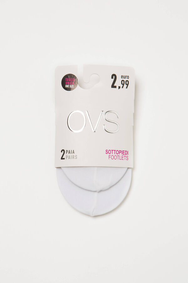 Two-pair pack shoe liners | OVS