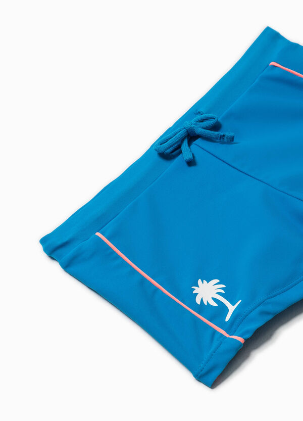 Swim shorts with contrasting bands | OVS