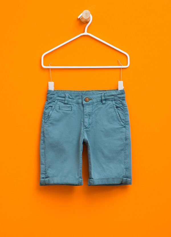 Bermuda chino in cotone stretch | OVS