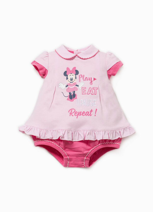 Legless romper suit with Minnie Mouse print | OVS