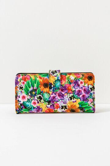 Portafogli fantasia floreale, Multicolor, hi-res