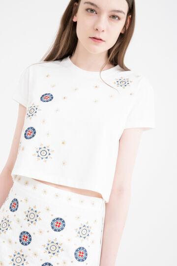 T-shirt OVS Arts of Italy, Galla Placidia, Bianco latte, hi-res