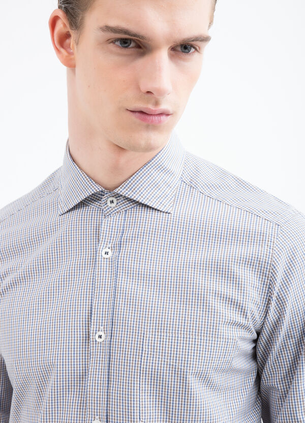 Rumford check cotton shirt | OVS