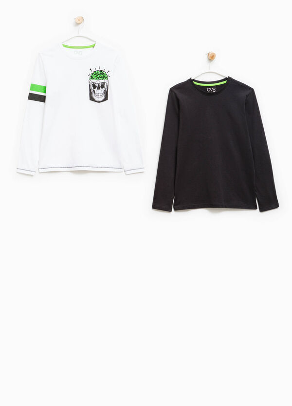 Two-pack, long-sleeved T-shirts | OVS