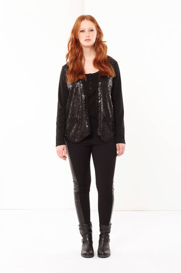 Curvyglam jacket with sequins