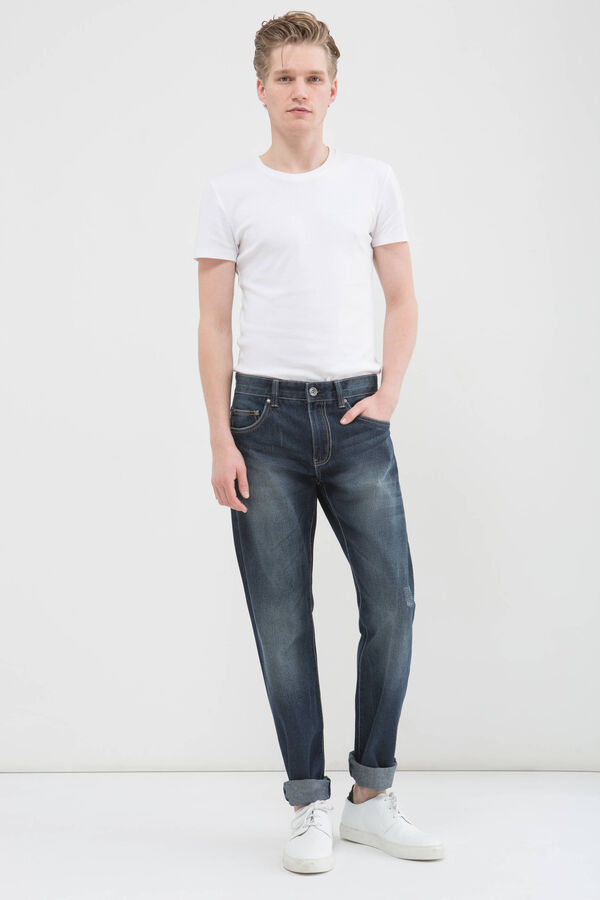 Comfort fit jeans with five pockets | OVS