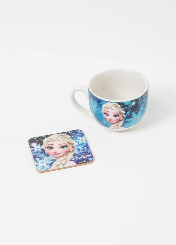 Frozen cup and coaster set | OVS
