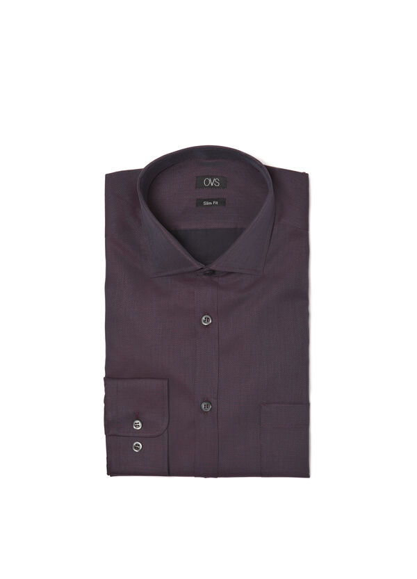 Camicia fantasia slim fit | OVS
