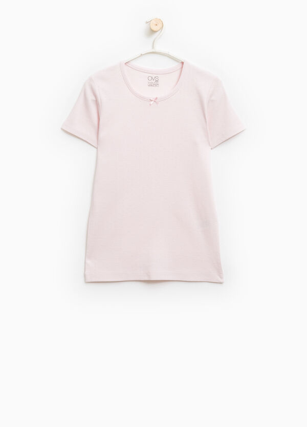 T-shirt intima cotone tinta unita   OVS