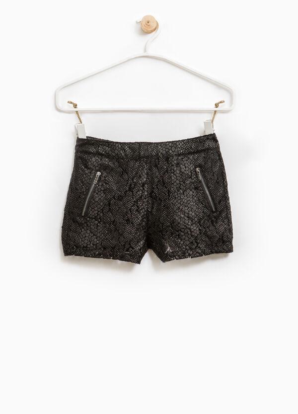 Cotton openwork shorts | OVS