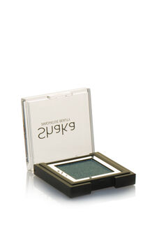 Compact eyeshadow with metal effect, Light Grey, hi-res
