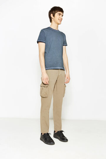Regular-fit, cargo chino trousers, Khaki, hi-res