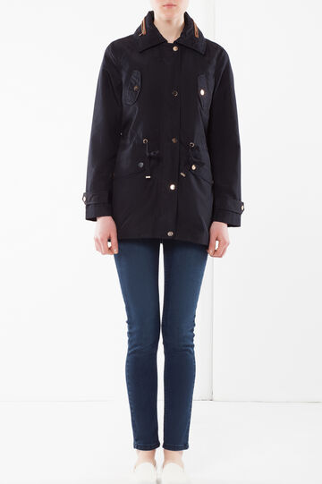 Lightweight jacket with four pockets, Navy Blue, hi-res