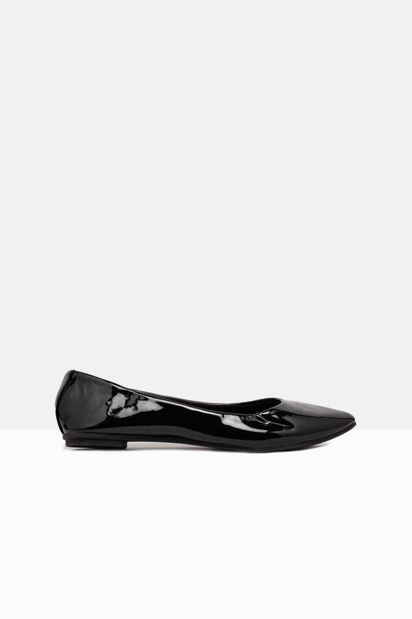 Pointed toe ballerina flats | OVS