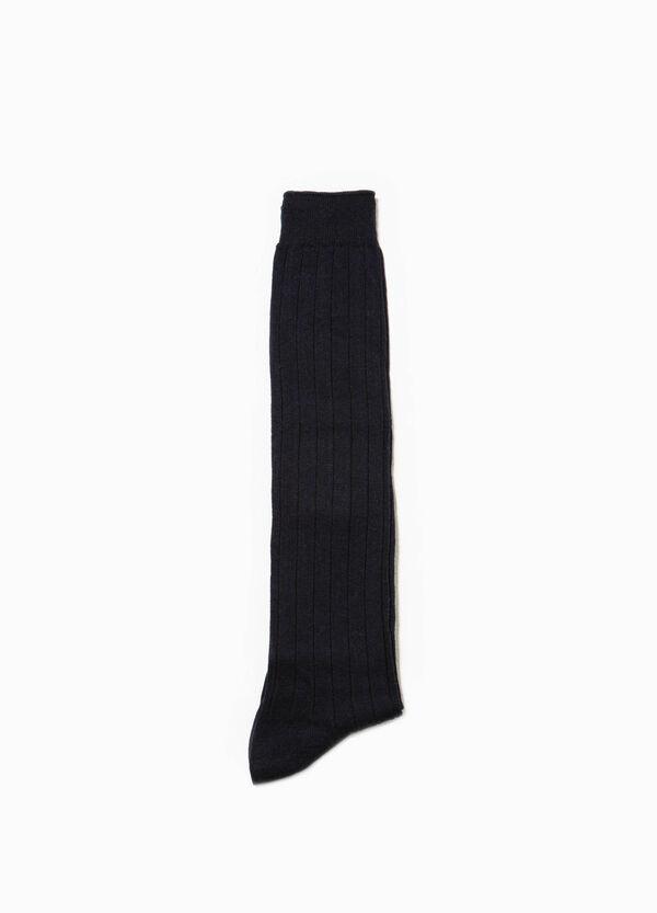 Calcetines largos en canalé | OVS