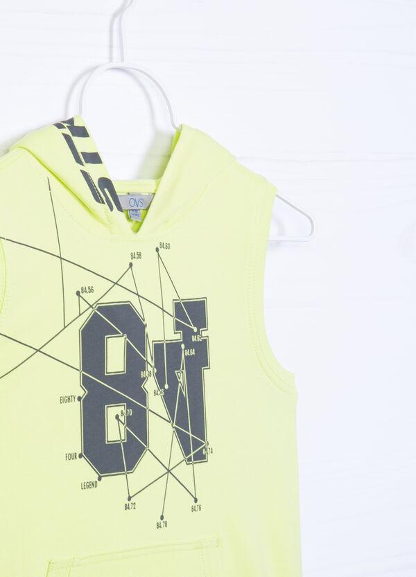 Printed vest in 100% cotton   OVS