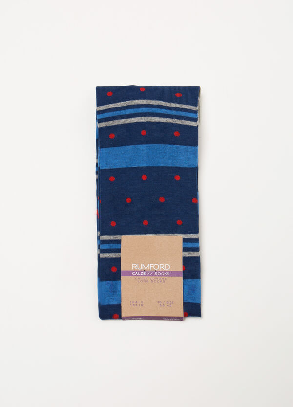 Rumford long patterned socks | OVS