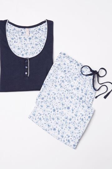 100% cotton pyjamas with floral print
