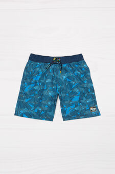 Boxer mare con stampa Maui and Sons, Blu navy, hi-res