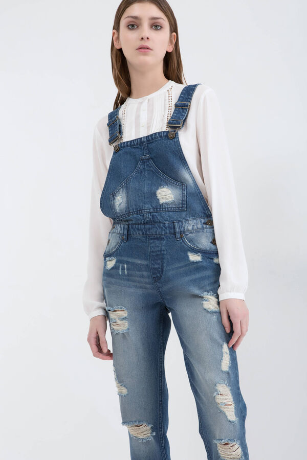Ripped dungarees | OVS