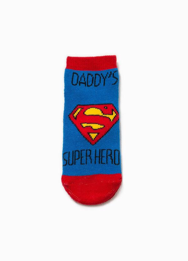Calze antiscivolo ricami Superman   OVS