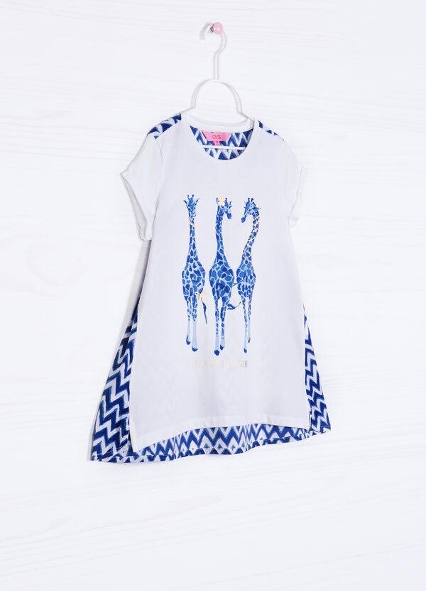 T-shirt cotone stretch stampa retro | OVS