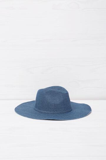 Cappello di jeans, Blu denim, hi-res