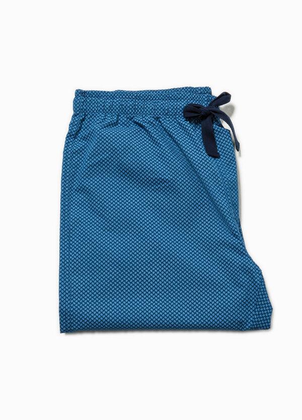 Pantaloni pigiama in cotone fantasia | OVS