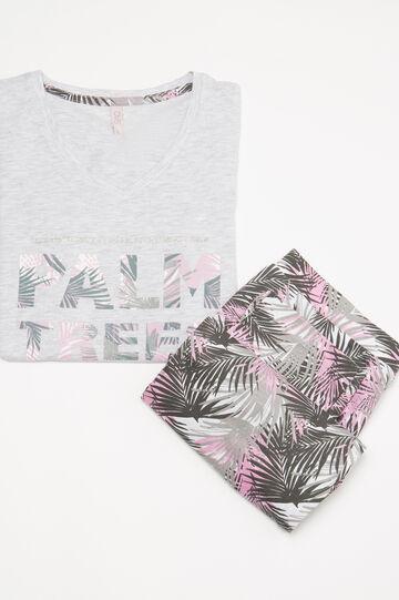 Printed cotton pyjamas