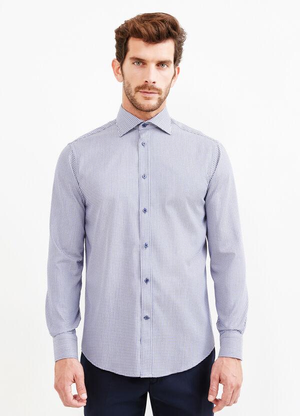 Camicia formale regular fit pied de poule | OVS