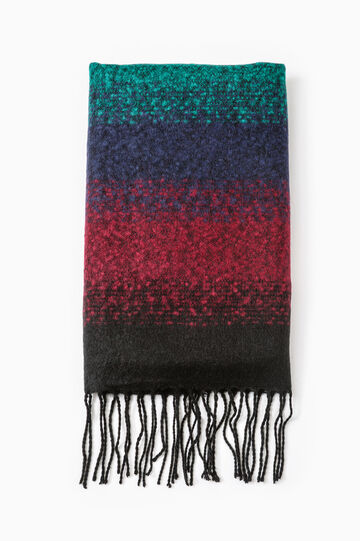 Dégradé scarf with fringe, Multicolour, hi-res