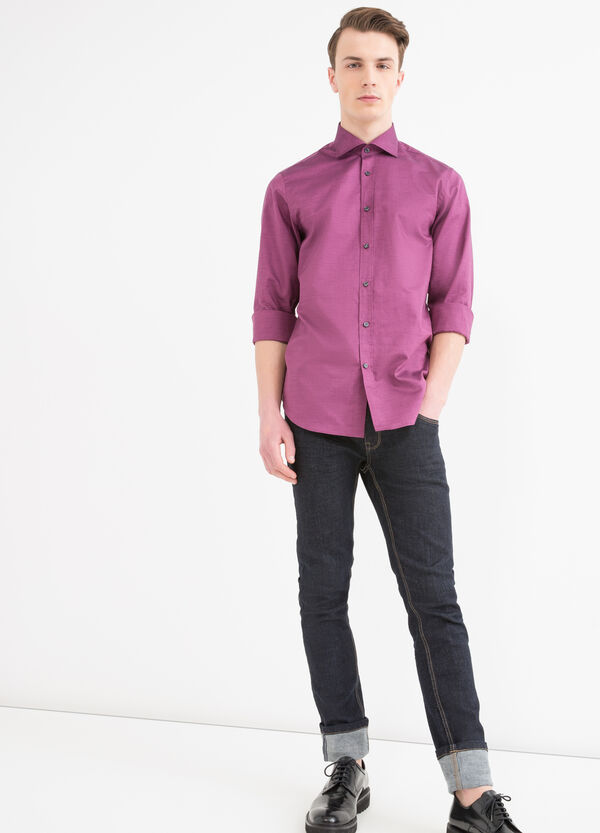 Regular-fit, cotton shirt with buttons | OVS